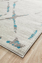 Load image into Gallery viewer, Met 606 Blue Rug