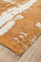 Load image into Gallery viewer, Magnolia 11 Mustard Runner Rug