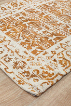 Load image into Gallery viewer, Magnolia 88 Mustard Runner Rug