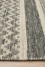 Load image into Gallery viewer, Miller Rhythm Pulse Smoke Rug