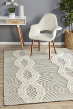 Load image into Gallery viewer, Miller Rhythm Chime Bone Rug