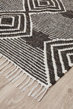 Load image into Gallery viewer, Miller Rhythm Dance Charcoal Rug