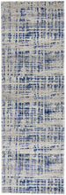 Load image into Gallery viewer, Mirage Ashley Abstract Modern Blue Grey Rug