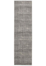 Load image into Gallery viewer, Mirage Ashley Abstract Modern Silver Grey Rug