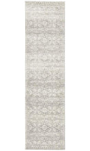 Load image into Gallery viewer, Mirage Gwyneth Stunning Transitional Silver Runner Rug