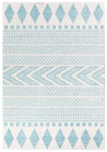 Load image into Gallery viewer, Mirage Adani  Modern Tribal Design sky Blue Rug