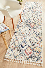 Load image into Gallery viewer, Marrakesh 111 White Runner Rug