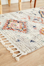 Load image into Gallery viewer, Marrakesh 222 Silver Runner Rug