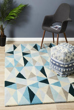 Load image into Gallery viewer, Matrix Pure Wool 901 Turquoise Rug