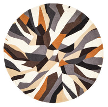 Load image into Gallery viewer, Matrix Pure Wool 903 Fossil Round Rug