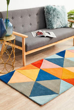 Load image into Gallery viewer, Matrix Pure Wool 905 Multi Runner Rug