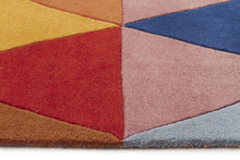 Load image into Gallery viewer, Matrix Pure Wool Multi Runner Rug