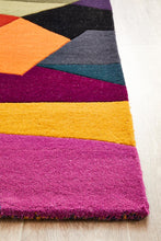 Load image into Gallery viewer, Matrix Pure Wool 906 Crayon Runner Rug