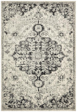 Load image into Gallery viewer, Museum Transitional Charcoal Rug