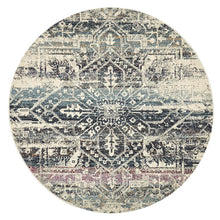 Load image into Gallery viewer, Museum Layton Blue Round Rug