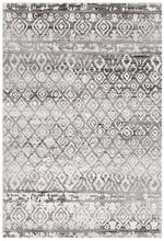 Load image into Gallery viewer, Oasis Zakira Dark Grey Tribal Rug