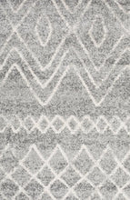 Load image into Gallery viewer, Oasis Nadia Grey Rustic Tribal Rug