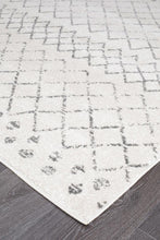 Load image into Gallery viewer, Oasis Selma White Grey Tribal Rug