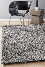 Load image into Gallery viewer, Orlando  Collection Black And White Rug