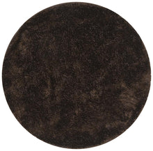 Load image into Gallery viewer, Oslo Round Shag Chocolate Rug