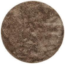 Load image into Gallery viewer, Oslo Round Shag Latte Rug
