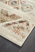 Load image into Gallery viewer, Oxford Mayfair Contrast Rust Runner Rug