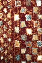 Load image into Gallery viewer, Oxford Mayfair Squares Rust Rug