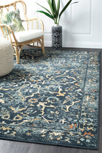 Load image into Gallery viewer, Oxford Mayfair Stem Navy Rug