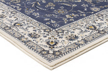 Load image into Gallery viewer, Palace Aisha Oriental Runner Rug Blue White