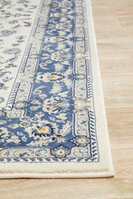 Load image into Gallery viewer, Palace Aisha Oriental Rug White Blue