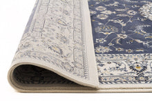 Load image into Gallery viewer, Palace Manal Oriental Runner Rug Blue White