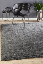 Load image into Gallery viewer, Pandora Collection Thick Soft Polar Graphite Shag Rug