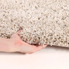Load image into Gallery viewer, Pandora Thick Soft Polar Shag Runner Rug Linen
