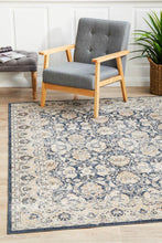 Load image into Gallery viewer, Providence Esquire Balance Traditional Blue Rug