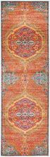 Load image into Gallery viewer, Radiance 422 Tangerine Runner Rug