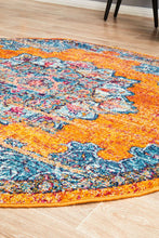 Load image into Gallery viewer, Radiance 433 Rust Round Rug