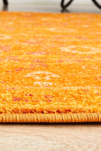 Load image into Gallery viewer, Radiance 444 Burnt Orange Round Rug