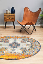 Load image into Gallery viewer, Radiance 555 Bone Round Rug