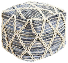 Load image into Gallery viewer, Rug Culture Home 518 Denim Ottoman