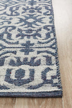 Load image into Gallery viewer, Relic Kian Silver Navy Rug