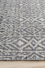 Load image into Gallery viewer, Relic Sammy Graphite Cobolt Rug