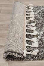 Load image into Gallery viewer, Saffron 11 Grey Runner Rug