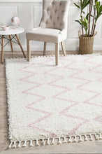 Load image into Gallery viewer, Saffron 11 Pink Rug