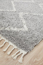 Load image into Gallery viewer, Saffron 11 Silver Rug