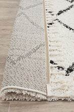 Load image into Gallery viewer, Saffron 11 White Rug