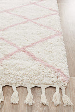 Load image into Gallery viewer, Saffron 22 Pink Runner Rug