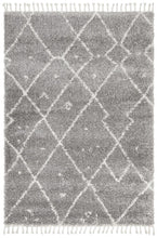 Load image into Gallery viewer, Saffron 44 Silver Rug