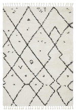 Load image into Gallery viewer, Saffron 44 White Rug