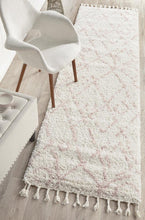 Load image into Gallery viewer, Saffron 55 Pink Runner Rug