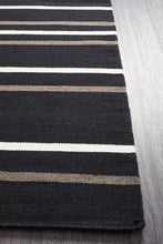 Load image into Gallery viewer, Skandinavian 306 Black Rug